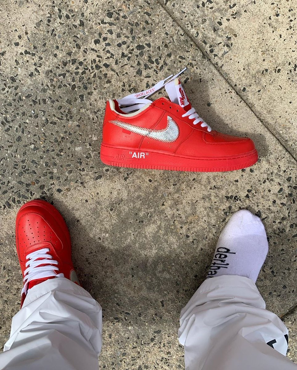 Ovrnundr On Twitter Off White X Nike Air Force 1 Red What Do