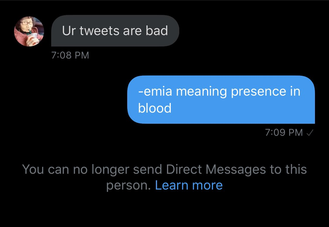 """Chubbyemu on Twitter: """"-emia meaning presence in blood… """""""