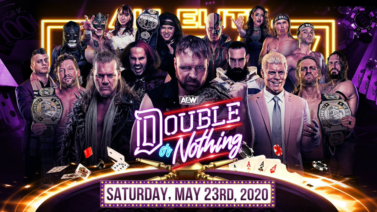 AEW Double Or Nothing PPV Status Update