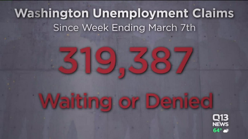 As many as 319,000 waiting or denied unemployment benefits in Washington state bit.ly/2VxY3xL