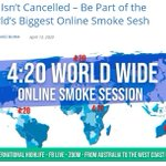 Image for the Tweet beginning: 420 is not Cancelled –