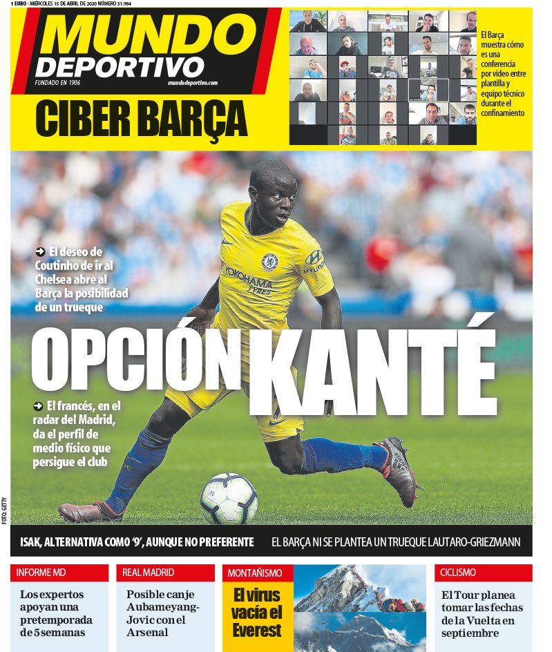 At The Bridge Pod A Chelsea Fc Podcast On Twitter Barcelona Is Going To Explore The Kante Option Because Coutinho Wants To Go To Chelsea Mundo Deportivo Cfc Fcb Https T Co Emeztegt3o