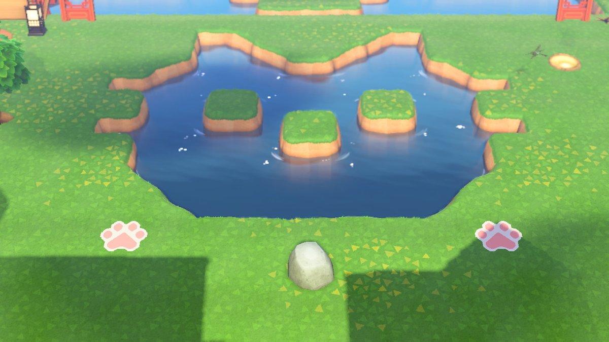 あつ森 池