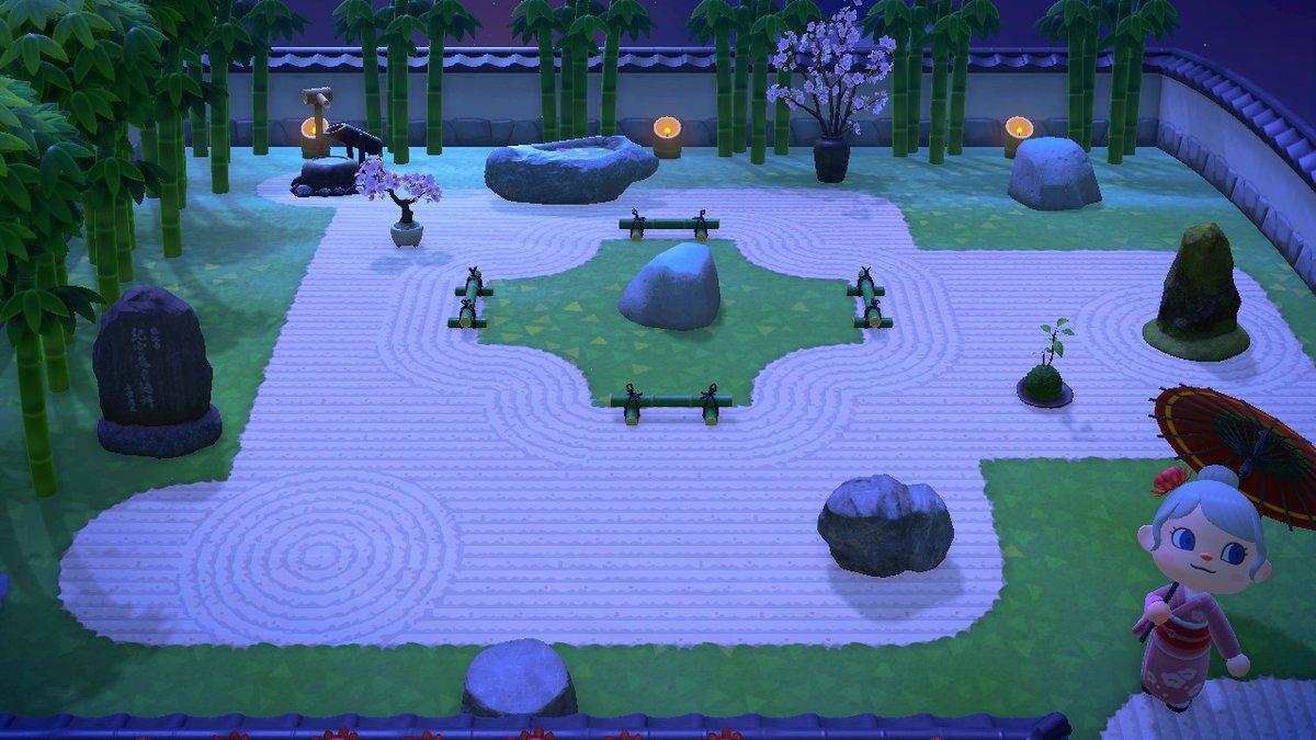 庭園 日本 あつ 森