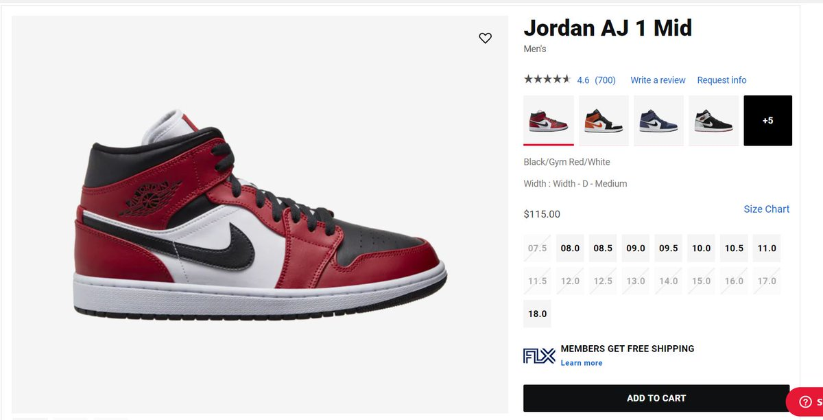 Sole Links On Twitter Ad Air Jordan 1 Mid Chicago Black Toe