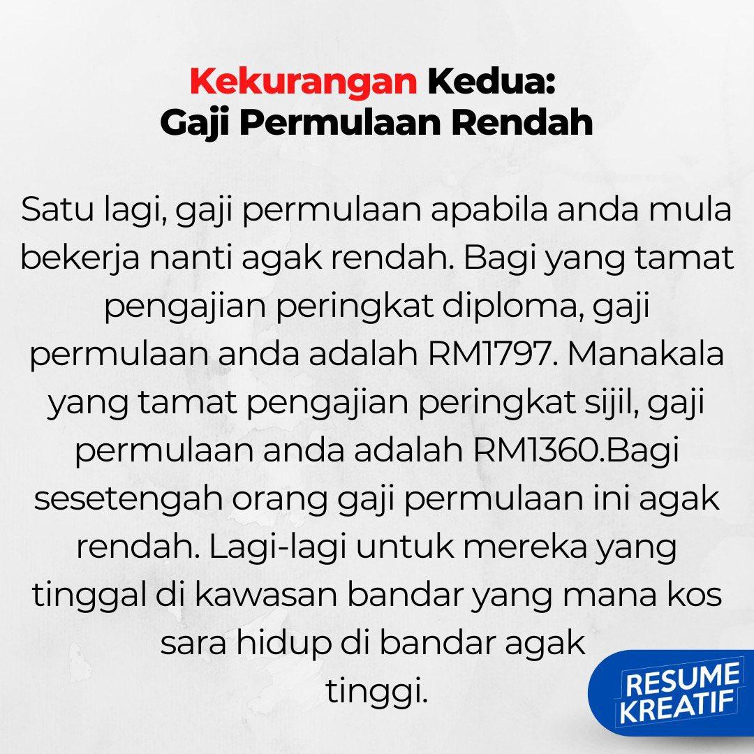 Resume Malaya On Twitter Cont