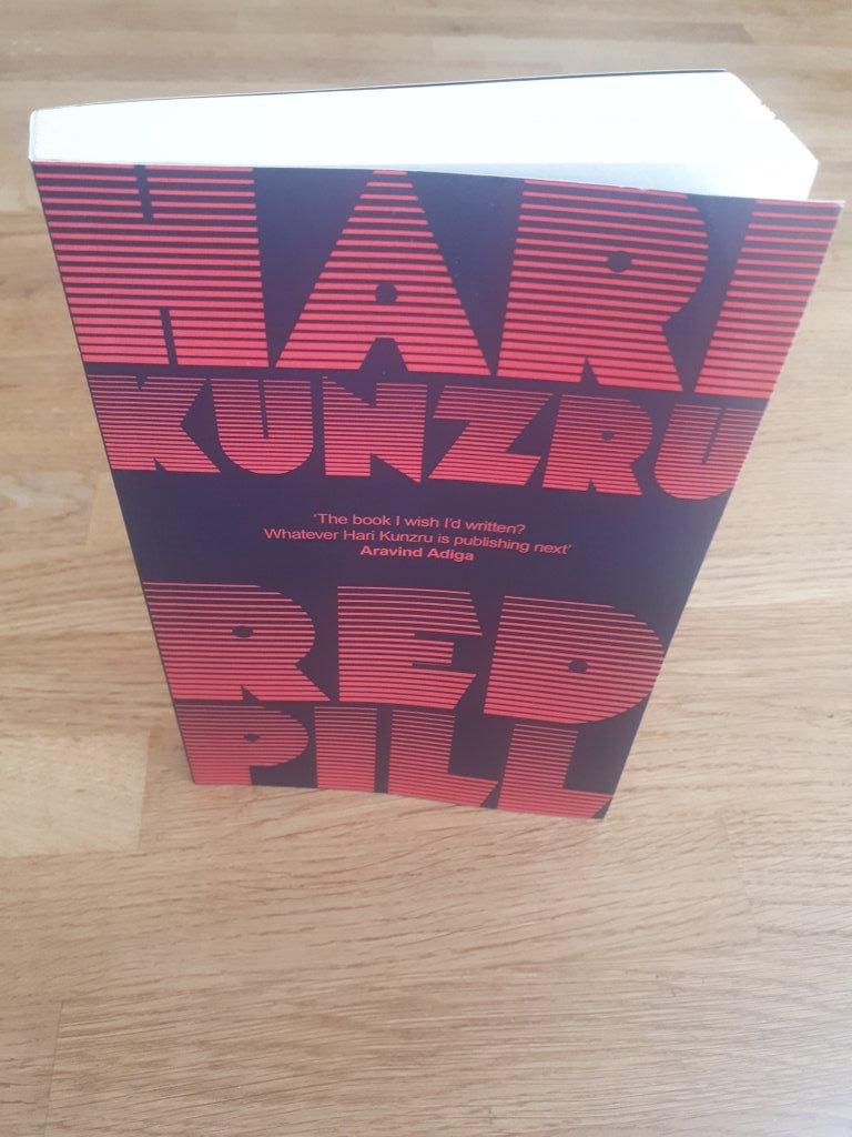 Many thanks to @harikunzru for an advance copy of his forthcoming novel Red Pill (September 2020). Hari Kunzru: Critical Perspectives is now contracted with @ManchesterUP (2021) https://t.co/0FEFOwNx04