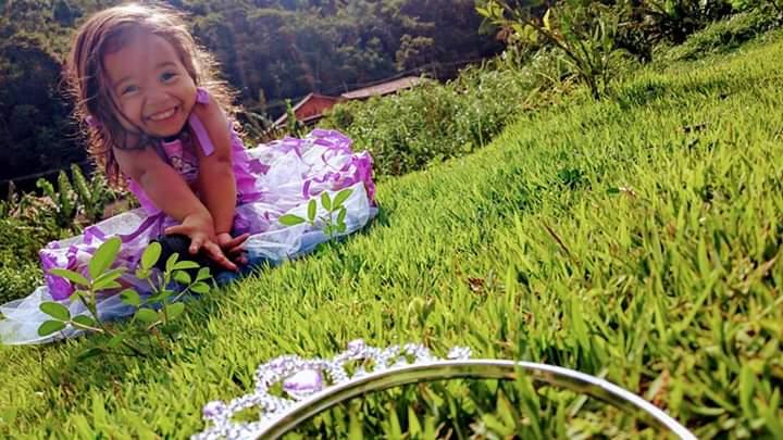 Hoje minha princesa Sophia completa seus 6 aninhos. #DindaCoruja