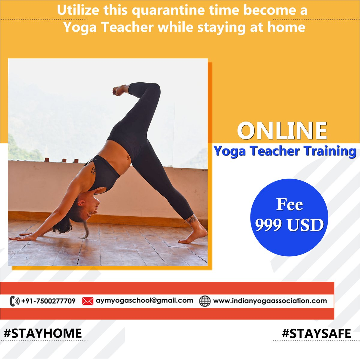 Aymayurvedaschool On Twitter Live Online Yoga Teacher Training At Aym Yoga School In Rishikesh India Use This Quarantine Time To Dive Deeper To Self And Become A Yoga Teacher You Can Join