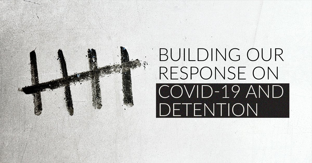 How should we respond to the challenge #COVID19 poses in detention? Read the new guidance brief from the global anti-torture movement --> https://t.co/8MJIoP7K87 https://t.co/Bj7Hg5gTOr