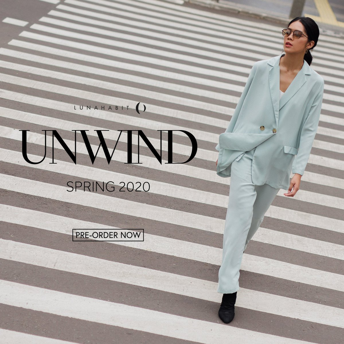 Unwind represents a style to express your good feeling with loose cutting and bright colors and fits in your day to day look. Let's take your time to relax and chill in this challenging time.   Pre-order NOW at   #Lunahabit #LHUnwind #Localbrand