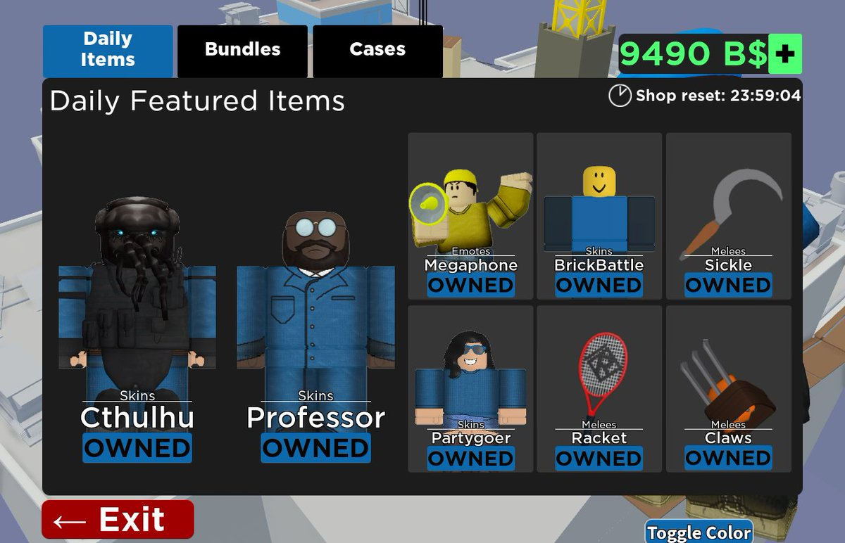 Arsenal Daily Shop On Twitter Roblox Robloxarsenal