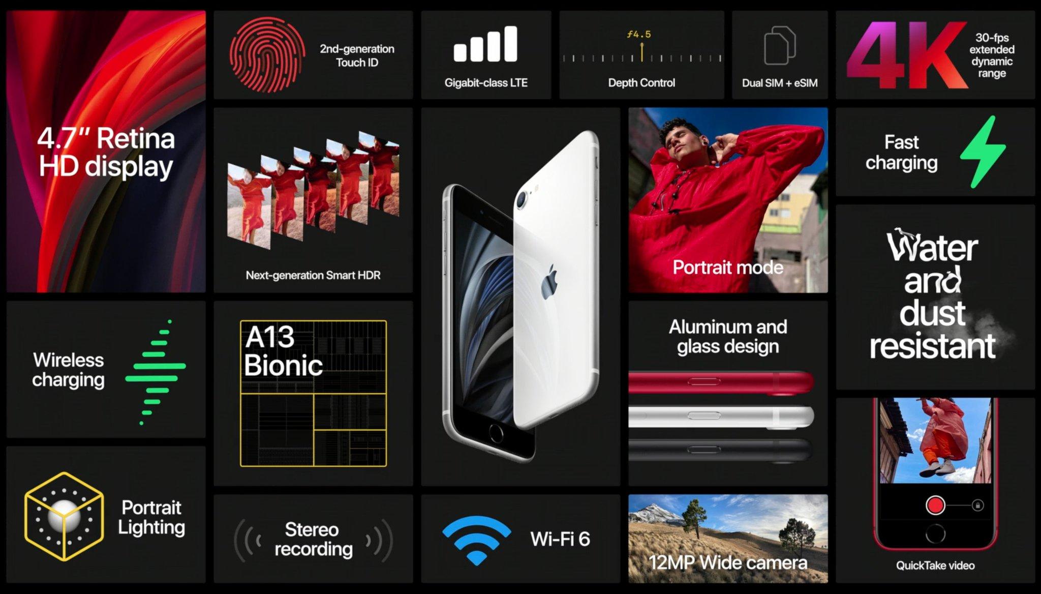 Fitur iPhone SE 2 (2020)