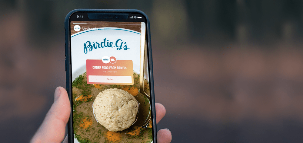 Instagram partners with LA's ChowNow to make food pics and stories shoppable by @jshieber