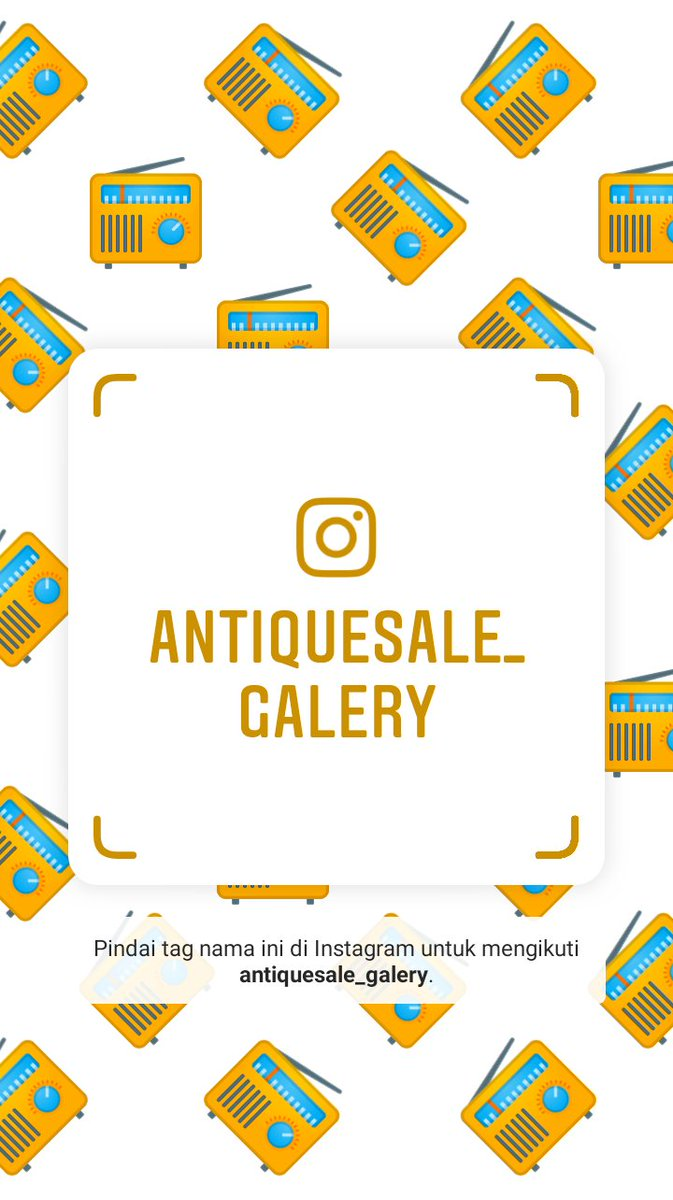 Ikuti saya di Instagram! Nama pengguna: antiquesale_galery https://www.instagram.com/antiquesale_galery?r=nametag…pic.twitter.com/Wm08x4D2Gj