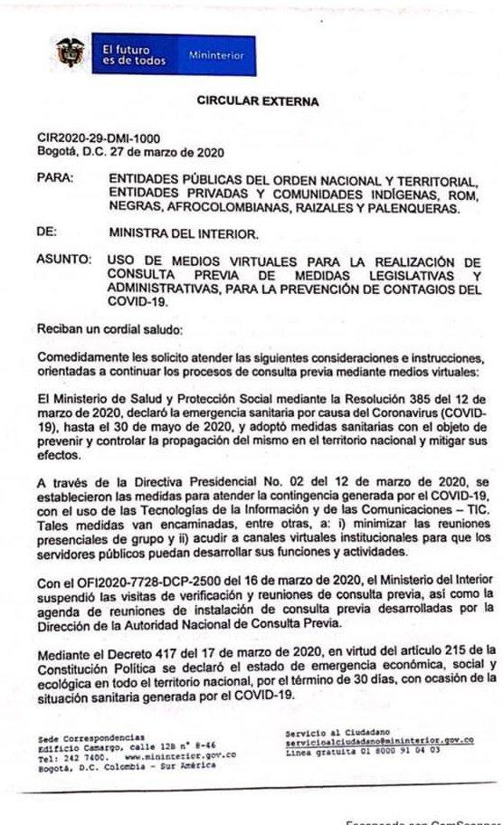 Foto: Ministerio del Interior de Ecuador