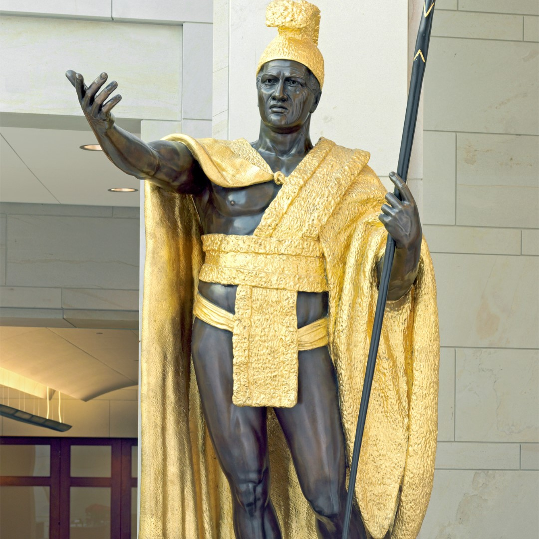 U S Capitol On Twitter The Statue Of King Kamehameha Was Dedicated At The U S Capitol Otd In 1969 Hawaii S Gift To The National Statuary Hall Collection Stands In Emancipation Hall In The
