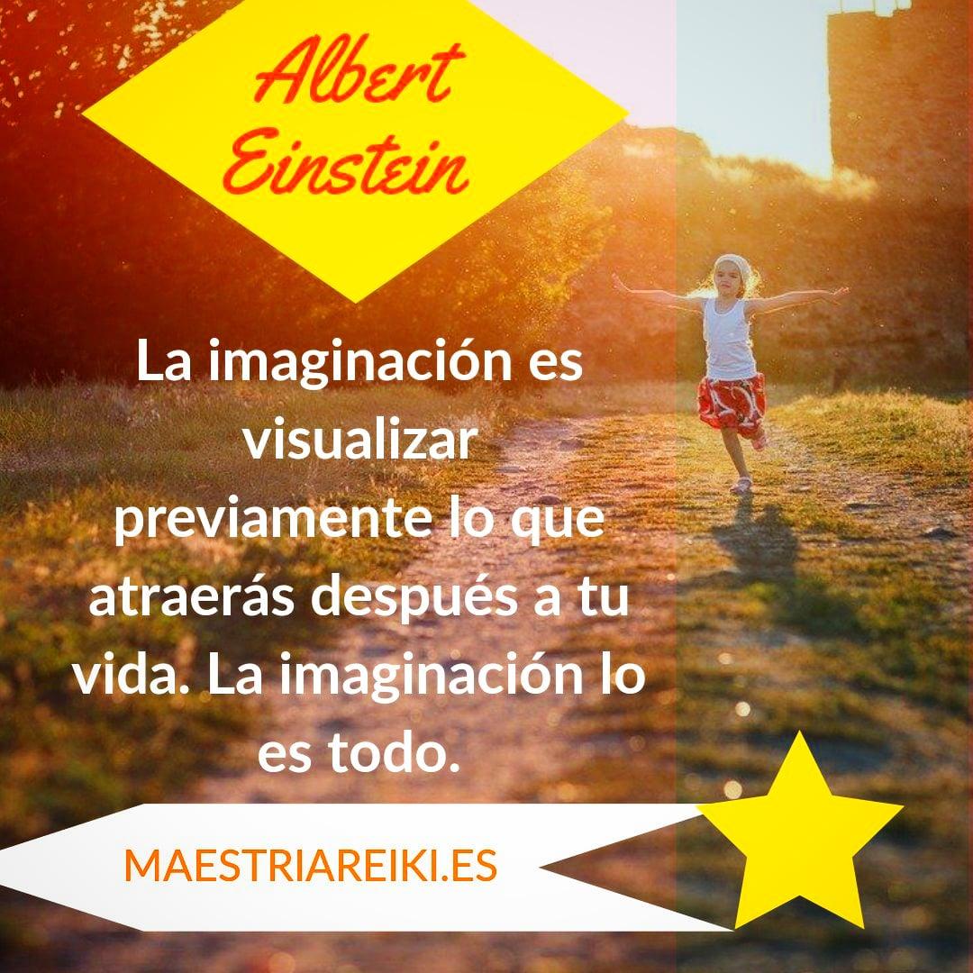 Albert Einstein: 'La #imaginación lo es todo'   #creatividad #visualiza #leydelaatraccion #einstein #elsecreto #frasedeldíapic.twitter.com/AQ3URWzMmx