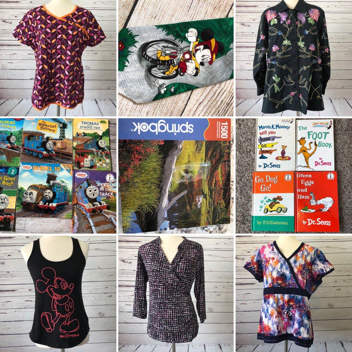 ✨new listings✨ make an offer on @ebay👇🏻 . https://t.co/4rQ8umqGd6 . #HowToSpendYourStimulus #goodwillfind #thriftshop #ShopMyCloset @disney #puzzles #SmallBusiness #drseuss @poshmark #disney #books https://t.co/z7kD27xzMe