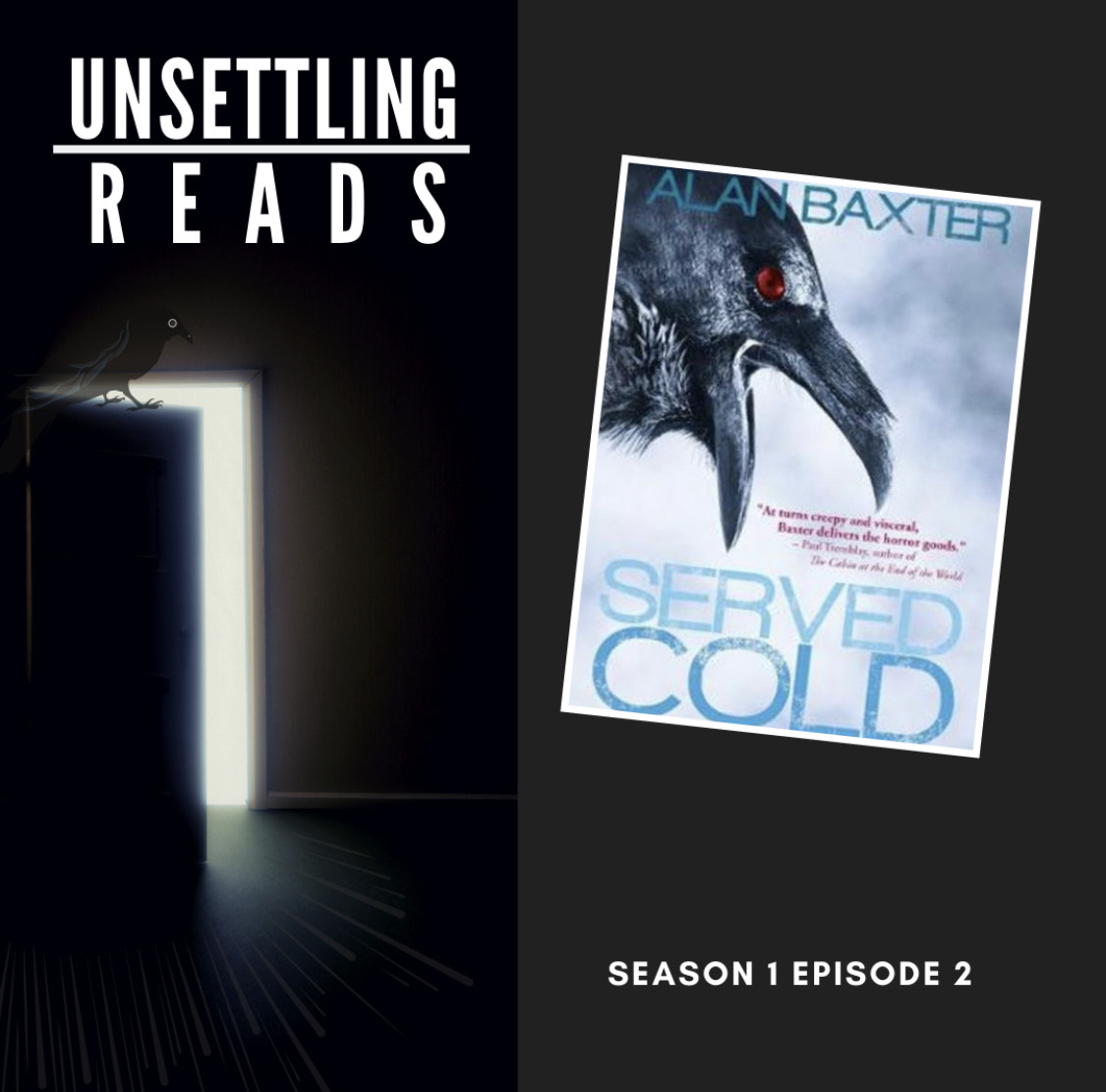 Our new review of Served Cold by @AlanBaxter is live! Check it out! unsettlingreads.squarespace.com/podcast