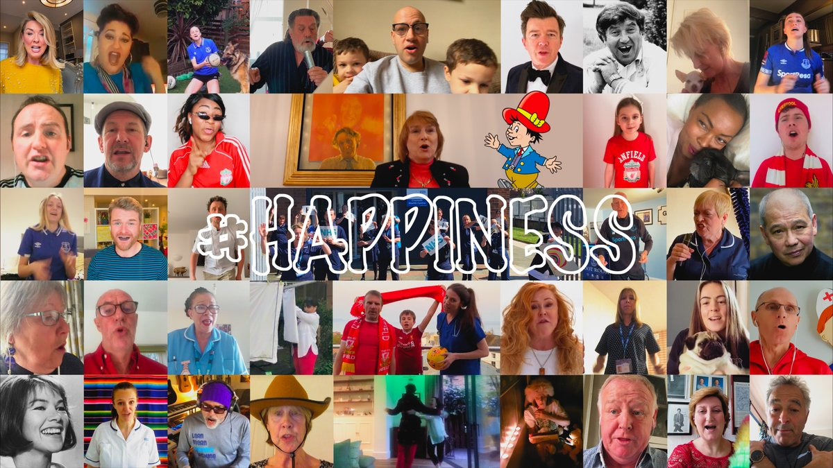 Adding our #HAPPINESS tributes to @NHSCharities with @TheComedyTrust. 🎤 @danturner11 @SimoneMagill @_esmemorgan @MeganFinnigan1 twitter.com/TheComedyTrust…