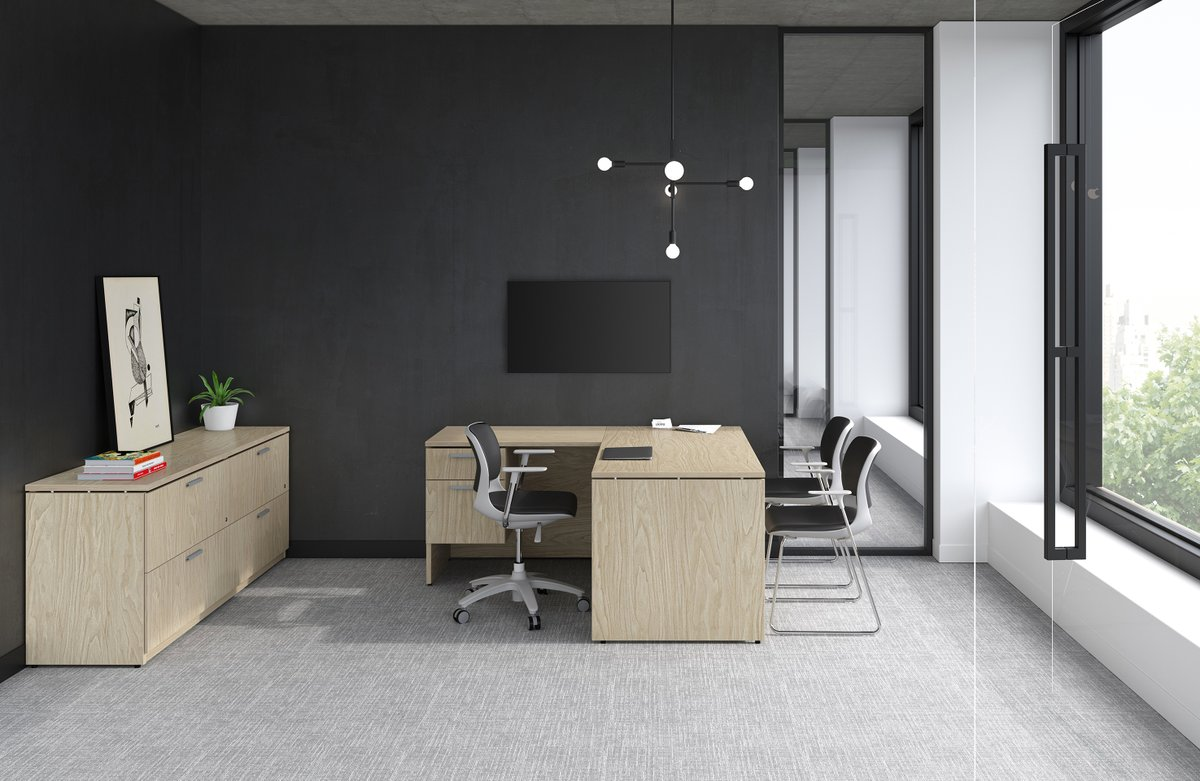 Create your workspace away from the office with our Morpheo collection. Home office solutions that are both beautiful and practical. And don't forget, they're also part of our QuickShip Program! #groupelacasse #morpheo #workfromhome #stayathome #staysafe https://t.co/nRgNE6Vn9L