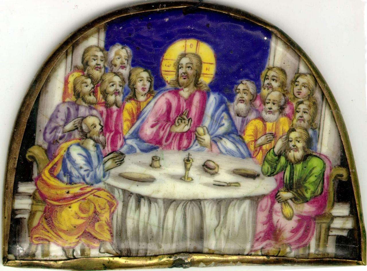 вот рублев тайная вечеря фото благодаря великолепной памяти