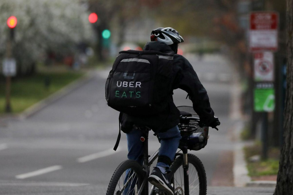 Uber targets older Americans with phone-based food ordering during coronavirus crisis