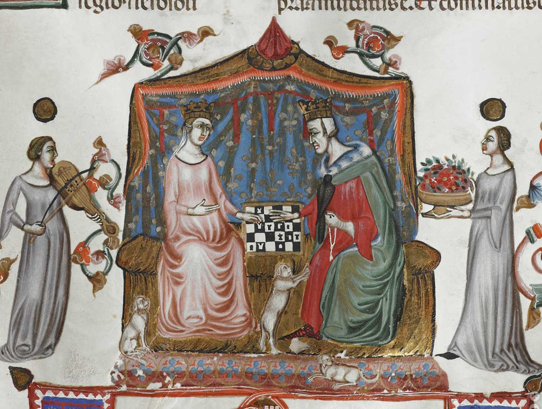 Tired and bored of staying at home for a long period? Maybe you can start playing chess? It seemed to work for King Robert of Naples and Queen Sancia in the early 14th century. @KU_Leuven Maurits Sabbe Lib, GSM Cod. 1 https://t.co/iFBxp3v4o3 #PublicDomain=#OpenData @KULTheology https://t.co/xNgzXeGHfI