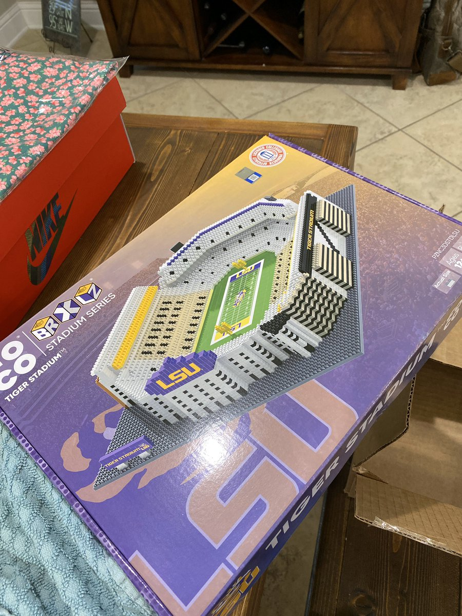 Bronson and I got the perfect quarantine project from @FOCOusa  #TigerStadium #DeathValley #geauxTigers @LSUfootballpic.twitter.com/VPqudAhkUc