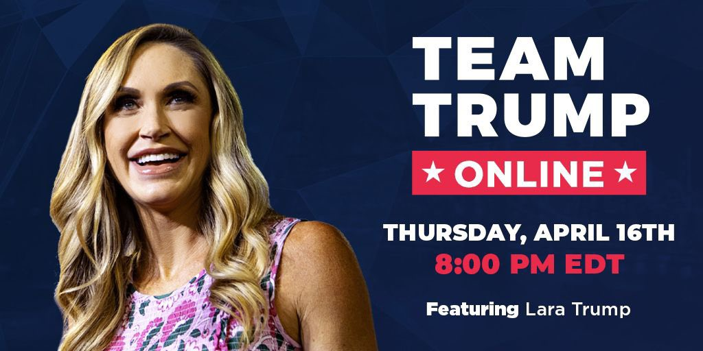 Sign up below and join us on Thursday at 8pm! events.donaldjtrump.com/events/team-tr…