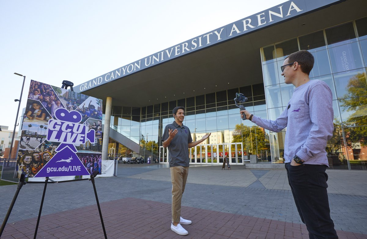 You still have the opportunity to tour campus through GCU LIVE! Visit https://t.co/tEtOaDQQxa to schedule your tour from the comfort of your home! https://t.co/WDhyMBjdH5