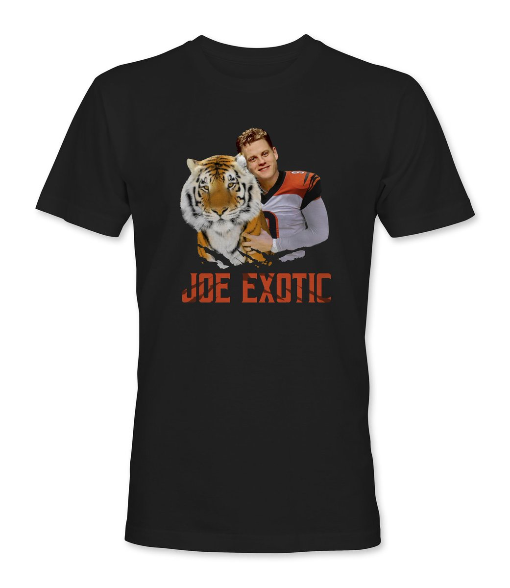 Quarantine giveaway time!   @NKY_Tees made this Joe Burrow shirt and you can get it for free!   All you have to do for a chance to win is RT this tweet,follow me,and follow @NKY_Tees   The winner will be picked after the Bengals take Burrow at 1 on draft night https://t.co/eNQKVh2AWM