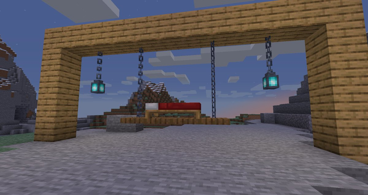 Thread By Throlash Quick Design Ideas With Chains Mojang Minecraft Netherupdate Floating Bed Is Best