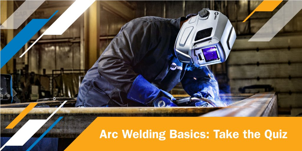 How much do you know about arc welding basics? Test your welding knowledge now with this quiz. #MillerWelders #WeldingEducation https://t.co/JMUAbHk5x3 https://t.co/mkQBP9ZaeQ