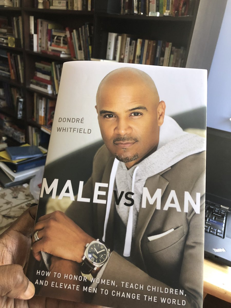 Excited to read the work of my #LaguardiaHighSchool bro, @DondreWhitfield #malevsman #requiredreading #dondrewhitfield https://t.co/PZqchpzwLB