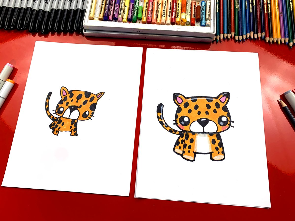 Art For Kids Hub On Twitter Learn How To Draw A Cute And Realistic Jaguar Watch The Realistic Jaguar Lesson Https T Co Pocydqejjd Or Watch The Cartoon Jaguar Lesson Https T Co Lsm87uddxu Https T Co Myrxraxa7z