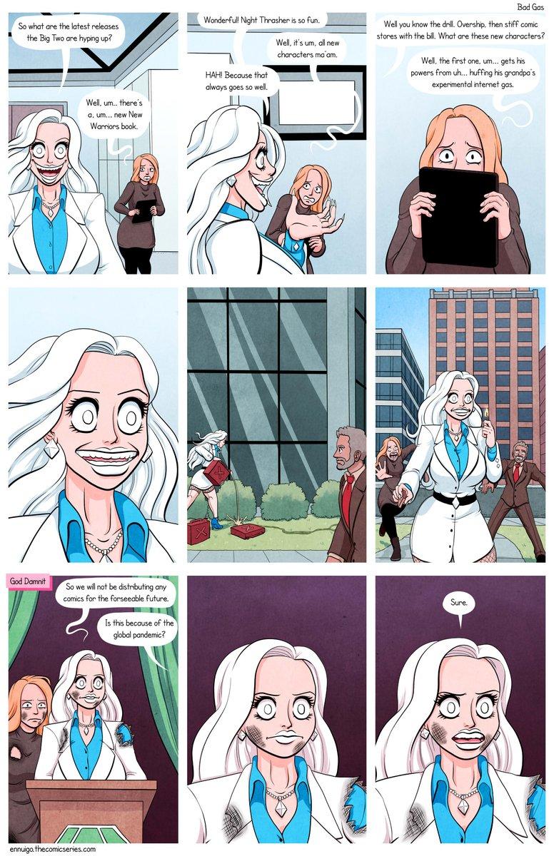 Full comic here! Updates M/W/F!  http:// ennuigo.thecomicseries.com      http:// patreon.com/doctorglasgow     #ennui #ennuigo #comic #comics #webcomic #webcomics #doctorglasgow #newwarriors <br>http://pic.twitter.com/Xxf3oa7urB