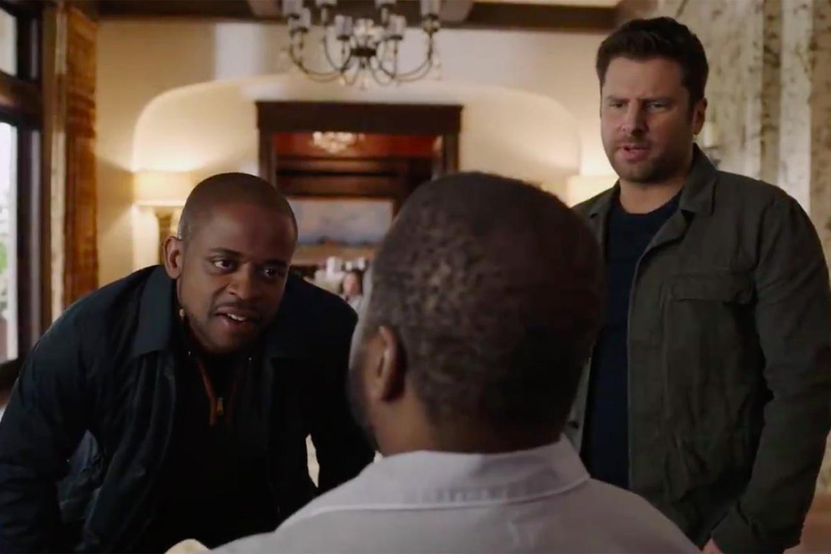 The Psych 2: Lassie Come Home teaser trailer is here to make your day, psychos! bit.ly/2Vbc4SJ