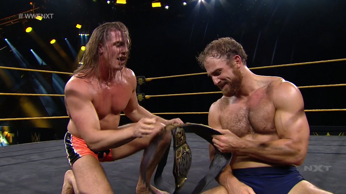 Timothy Thatcher Makes WWE NXT Debut As Mystery Partner In The Main Event (Photos, Videos)