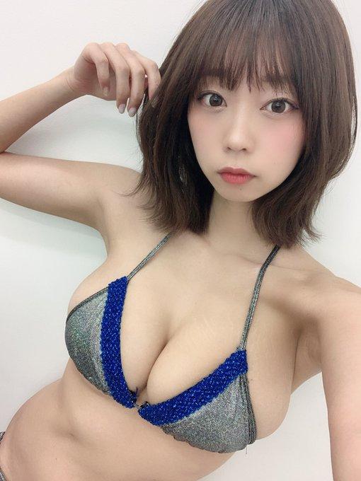 グラビアアイドル青山ひかるのTwitter自撮りエロ画像5