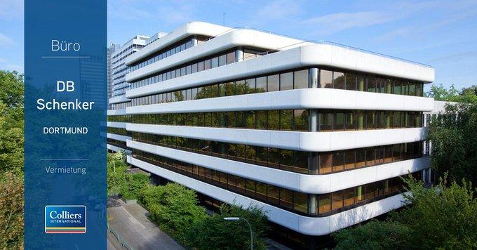 """Deal: @DBSchenker mietet rund 3.500 Quadratmeter in #Dortmund<br></noscript><br>""""Trotz Flächenknappheit in Dortmund konnte sich DB Schenker eine attraktive Bestandsimmobilie in guter Lage sichern"""", erklärt Cem Ergüney, Head of Office Letting NRW.<br><br>Alle Infos: t.co/mbnASOSc1B"""