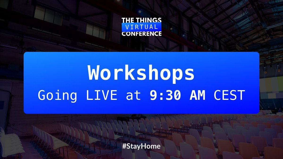 The first workshops are about to start! Learn more about integrating a #LoRaWAN sensor, Micro:bit, room climate control and ensuring long device battery life.  Watch: https://t.co/hStbThx7OI https://t.co/zh9BfxHv8q