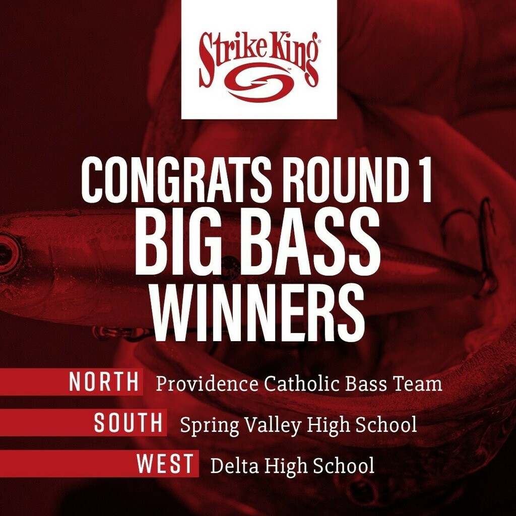 Round 1 of our High School Fishing Digital Tournament completed this past Sunday, 4/12. Congratulations to each of the big bass winners for each region! For round 1, our winners receive a Lews Mach Smash Combo for their team. Round 2 is currently under… instagr.am/p/B_CzkO4DB4I/