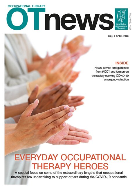 If your copy hasn't arrived yet and you can't wait, read the online version at rcot.co.uk/news/otnews @theRCOT