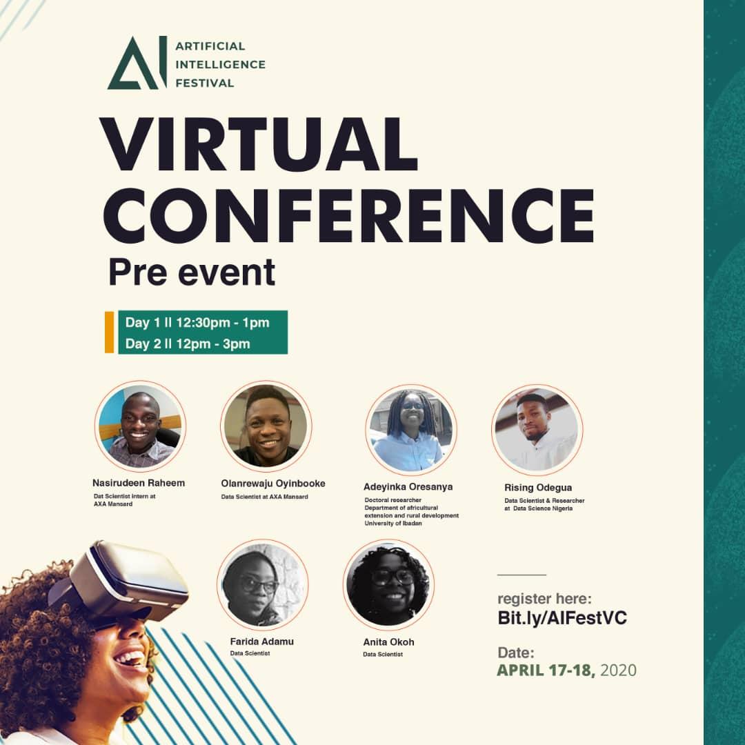 AI Festival Nigeria 2020 E-Flyer