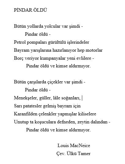 """Nurettin Topçu'nun öğrencisi Ülkü Tamer'e hazırlattığı """"Yirminci Yüzyılda İngiliz Şiiri"""" başlıklı ödev Dergâh 362. Sayımızda.   Tamer'in ödev için yaptığı şiir çevirilerinden birini paylaşıyoruz. https://t.co/Ke9yJvxysc"""