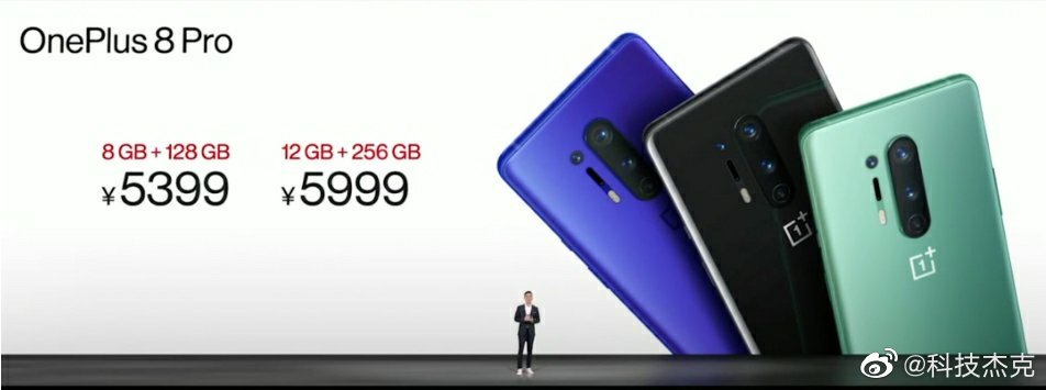 OnePlus 8 Pro Prices in China