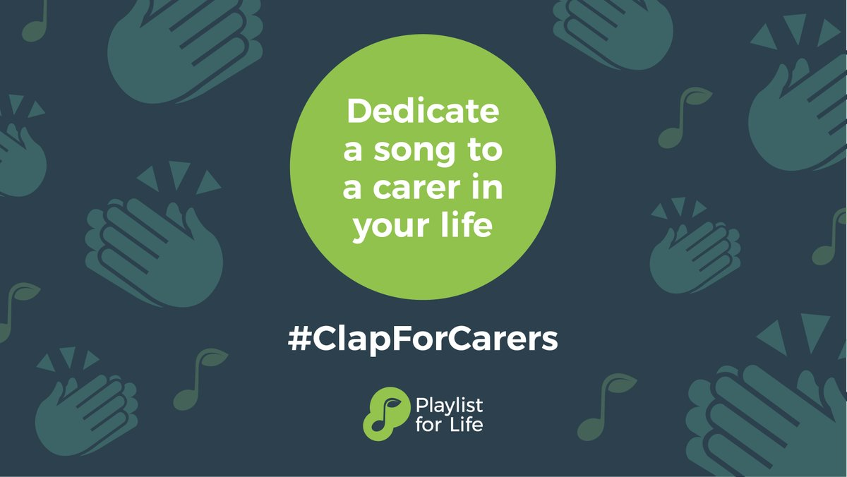 This is a lovely idea - what song would you dedicate to a carer? #ClapForCarers