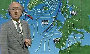 John Houghton presenting weather forecast